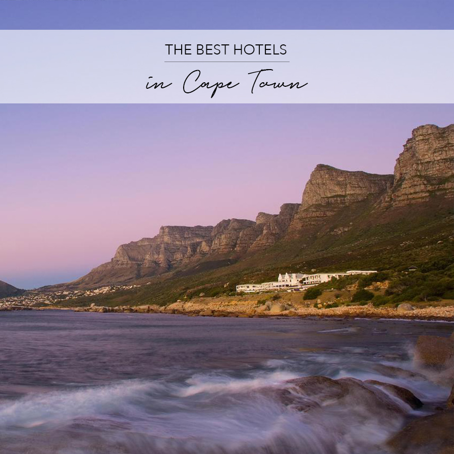 best hotels capetown