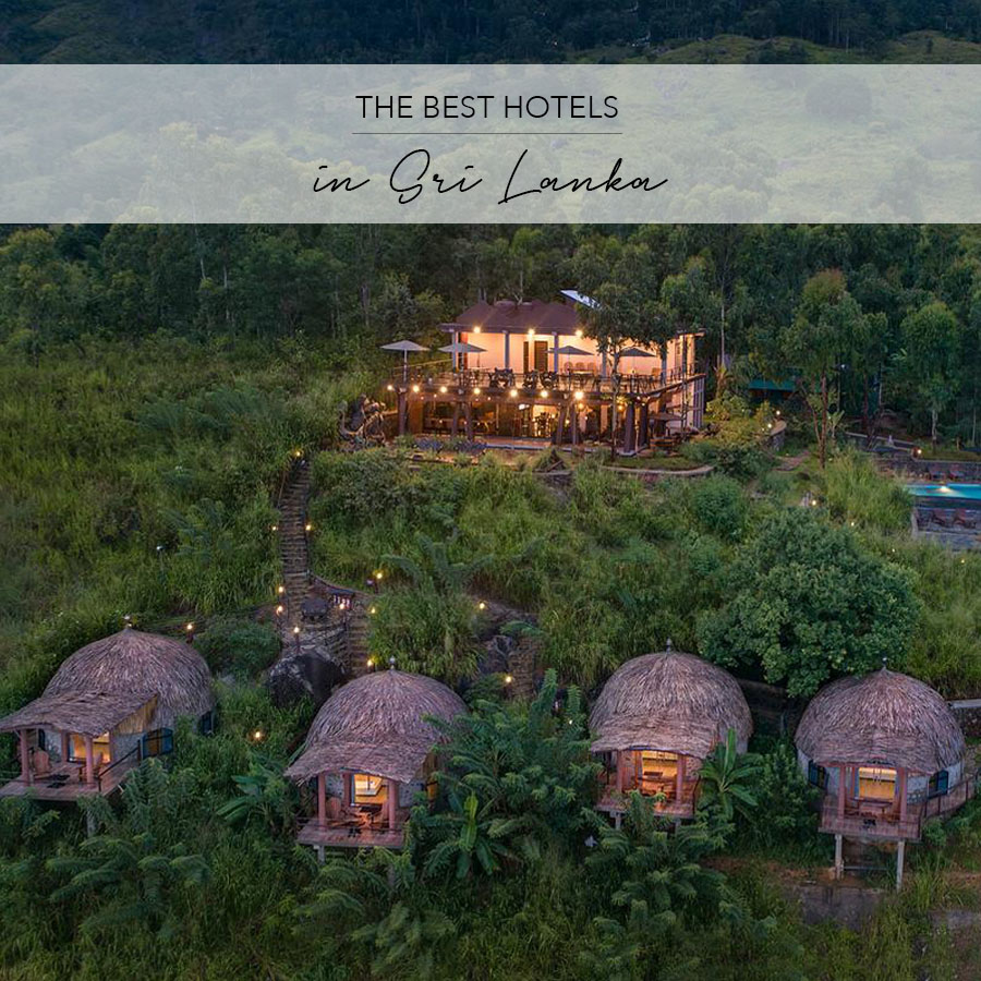 The Best Hotels in Sri Lanka