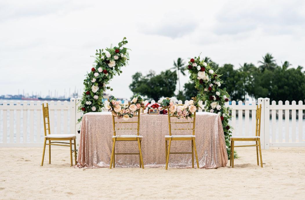 Sentosa Beaches - Best Wedding Venues Sentosa