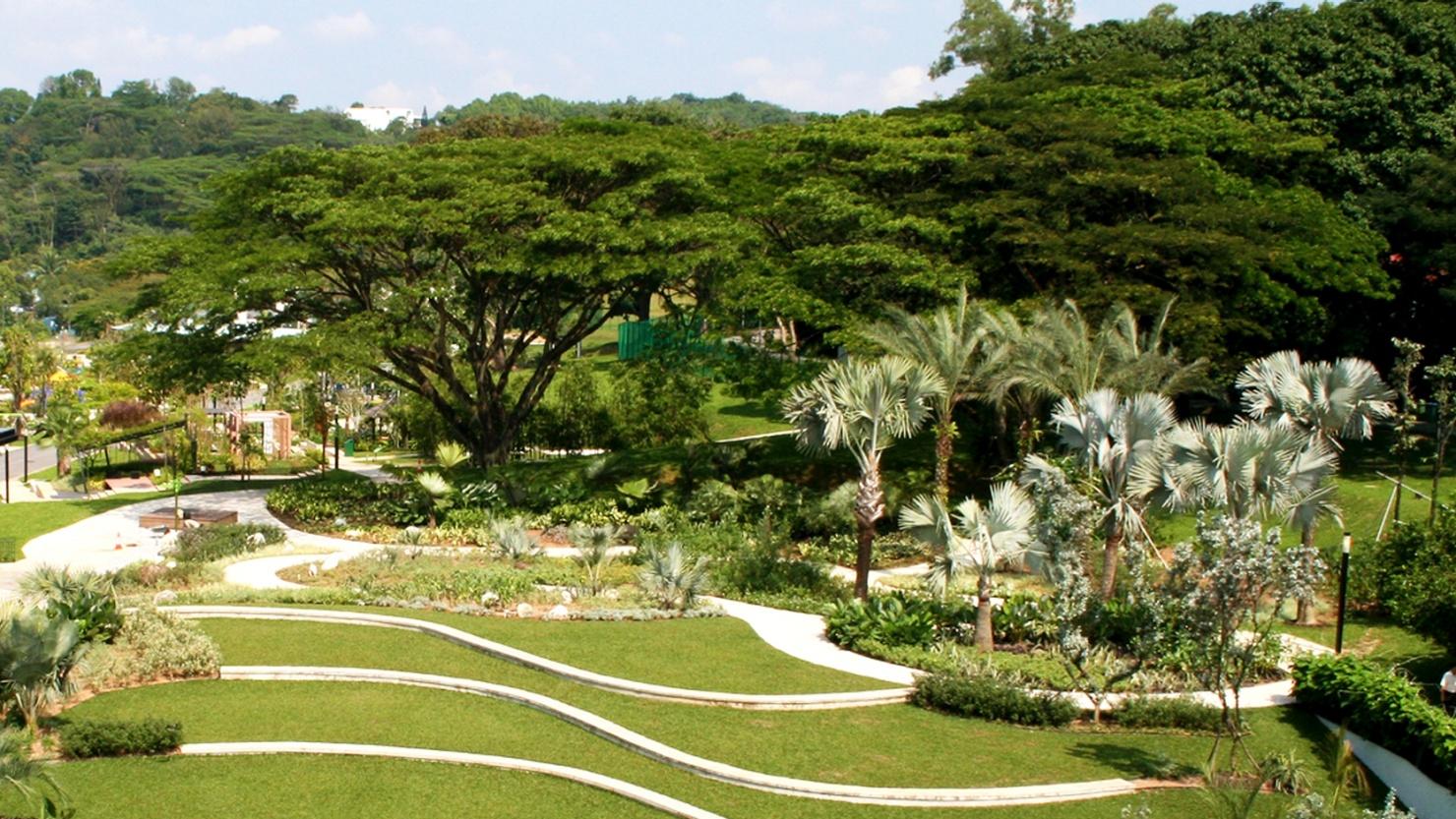 Hortpark - most unique wedding venues Singapore