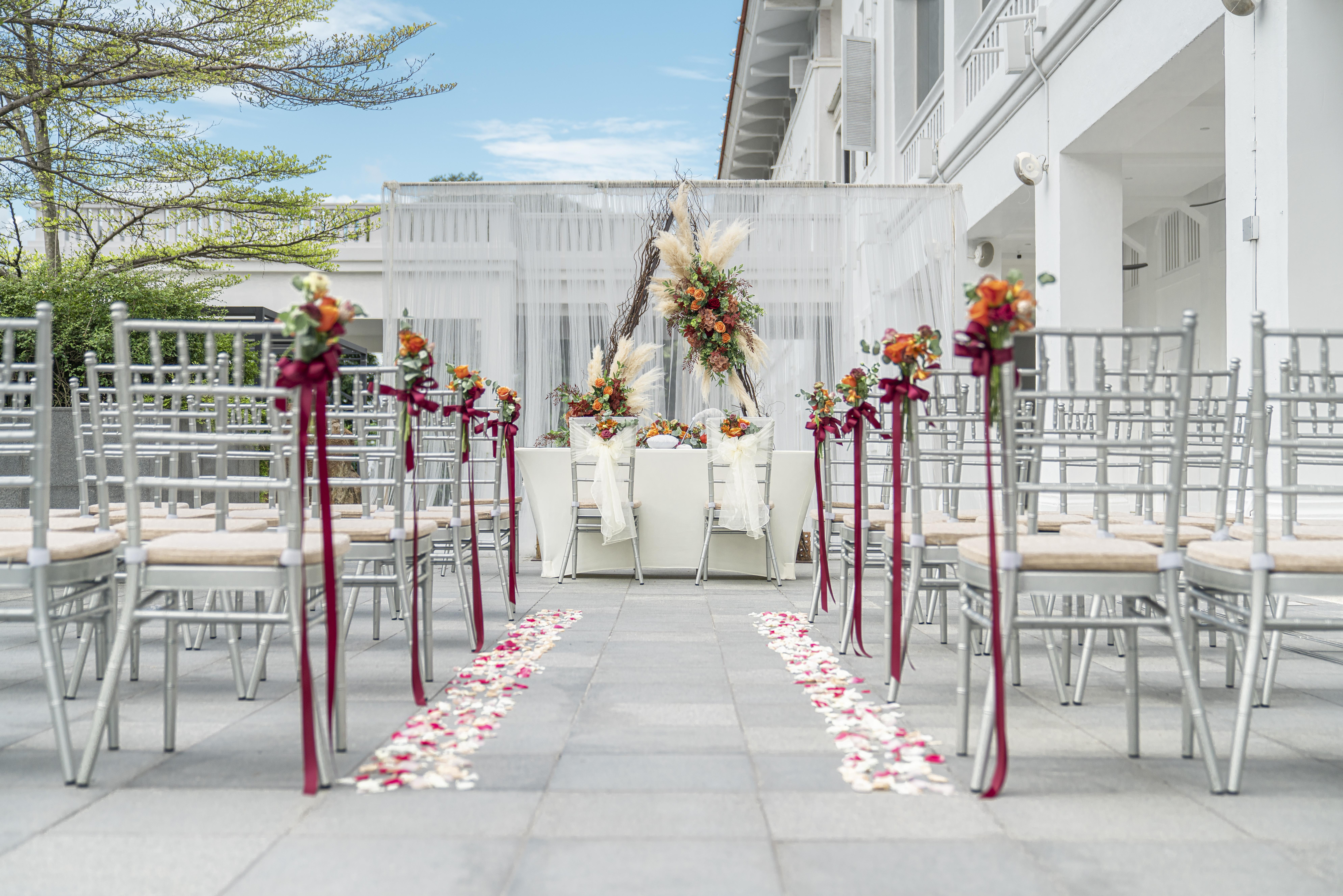 The Aloes - most unique wedding venues Singapore