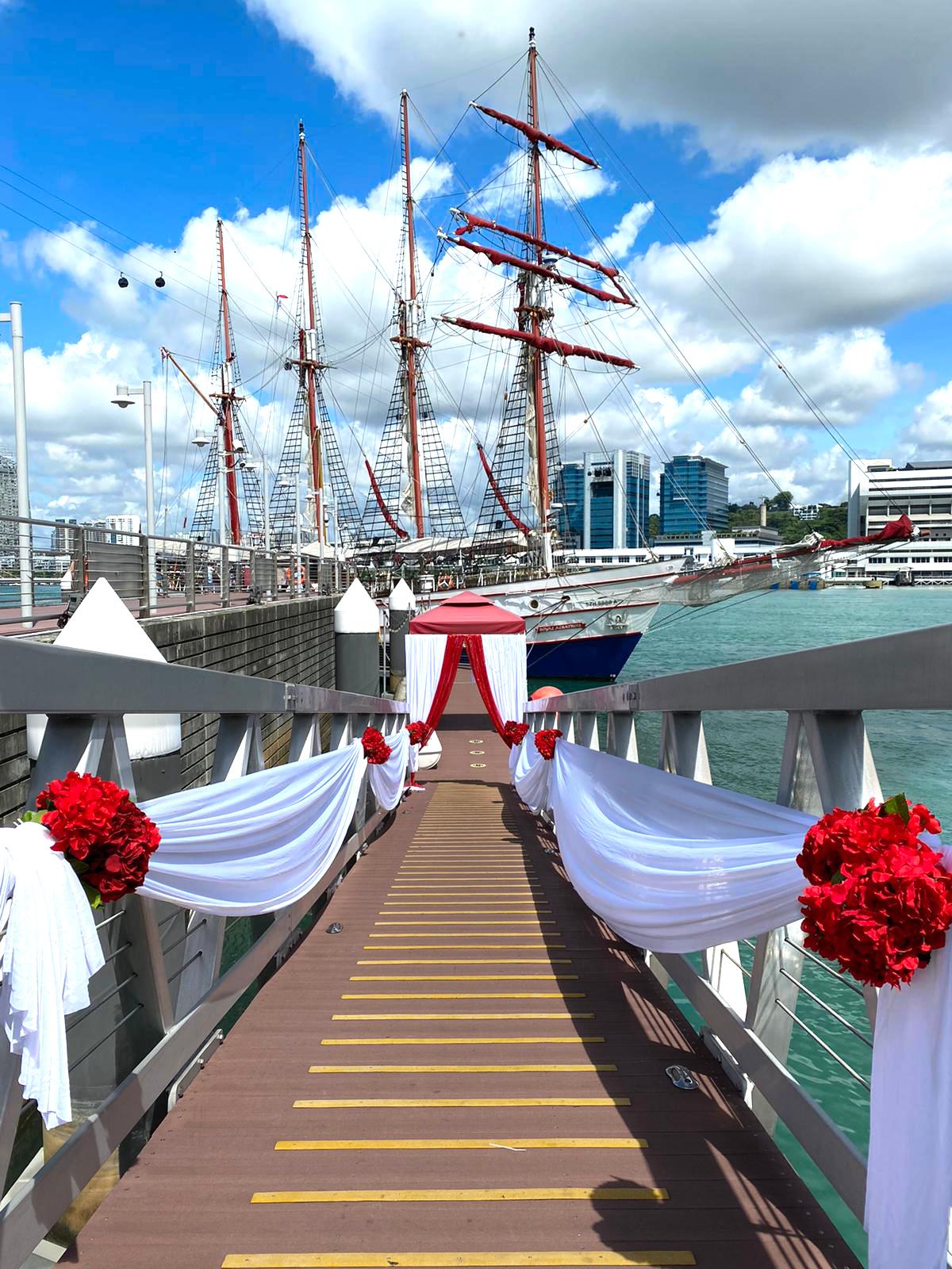 Royal Albatross - most unique wedding venues Singapore