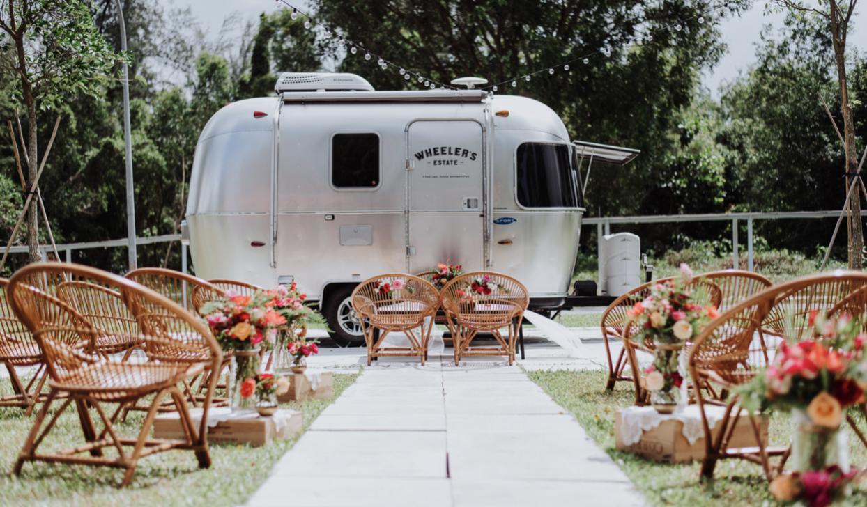 Wheeler's Yard - most unique wedding venues Singapore
