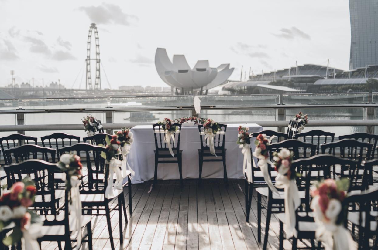 Monti at 1-Pavilion - most unique wedding venues Singapore