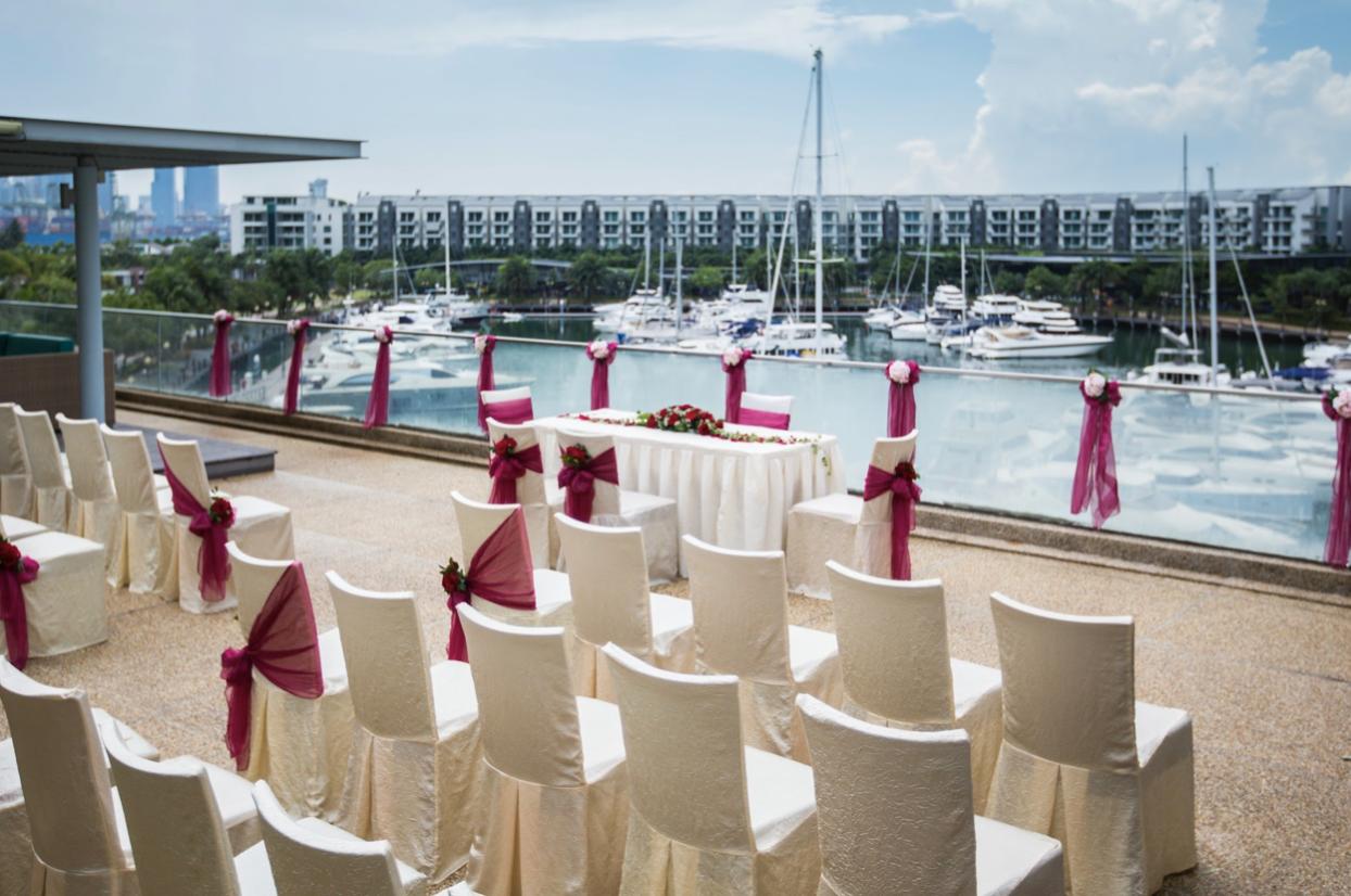 ONE°15 Marina - most unique wedding venues Singapore